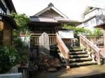 渋温泉 大湯の上の神社