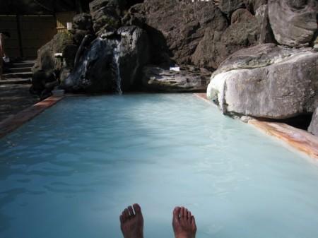 高湯温泉 旅館玉子湯の露天風呂「天翔の湯」