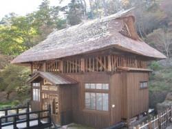 高湯温泉 旅館玉子湯の風情ある露天風呂小屋