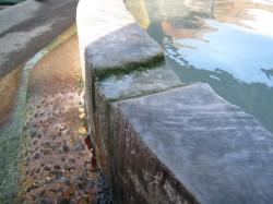 幕川温泉のお湯2