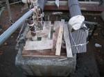 幕川温泉の源泉噴出口2