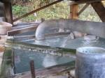 幕川温泉の源泉噴出口3